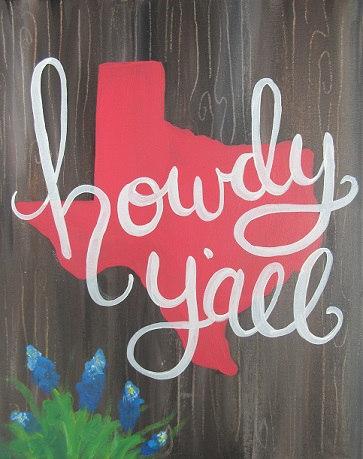 Texas - howdy y'all