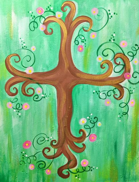 Cross in Bloom