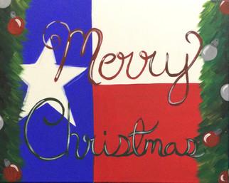 Texas Flag Christmas