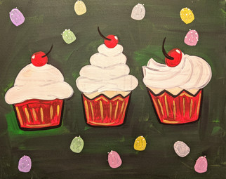 Cupcake christmas Party