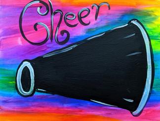 Glow Cheer Kids 11X14