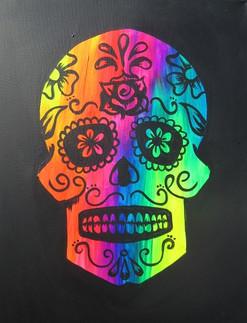 Glow Sugar Skull