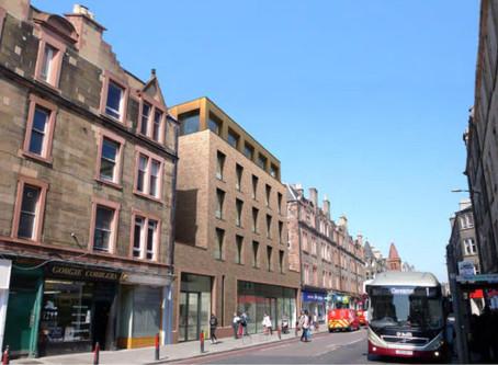 Developer withdraws Edinburgh retail and student accommodation plans