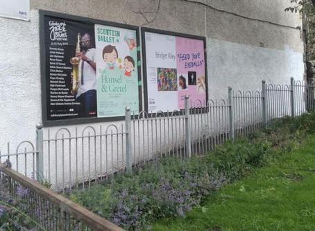 Gorgie locals fury over 'unauthorised' advertising