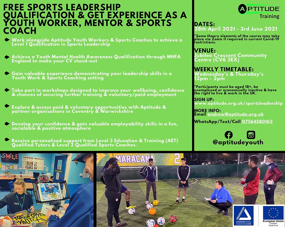 ESF Sports Leadership & Employability Pr