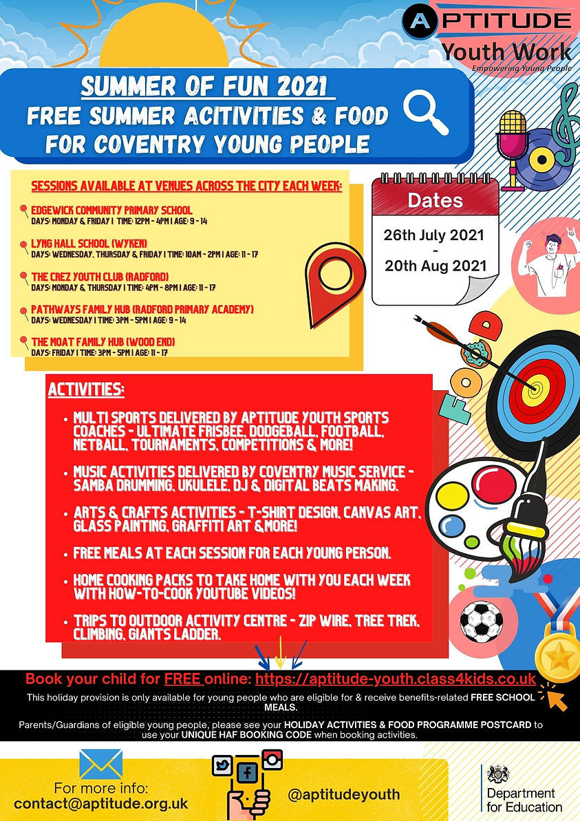 Summer of Fun 2021 - Aptitude Youth Work - Holiday Activities and Food Programme.jpg