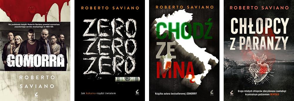 Książki Roberto Saviano publikowane przez Wydawnictwo Sonia Draga