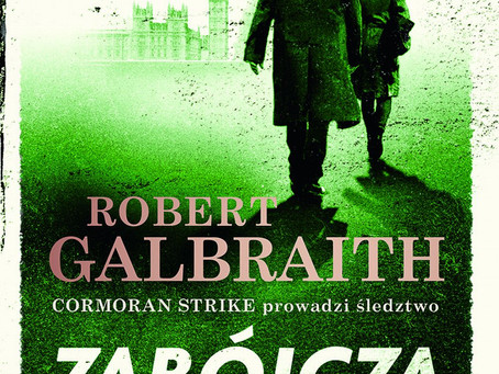 ZABÓJCZA BIEL - Robert Galbraith.
