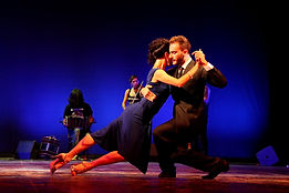 Maria Fillali et Gianpiero Galdi les maestros du Martinique Tango Festival