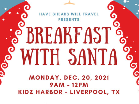 Breakfast with Santa at Kidz Harbor! Presented by HSWT