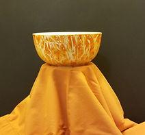 Orange Candy Bowl