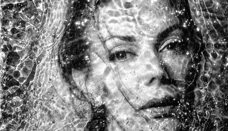 Water Portrait Barb - Russ Rowland