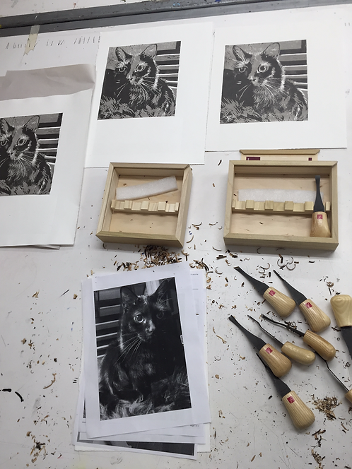 NEW! Advanced Relief Printmaking Techniques