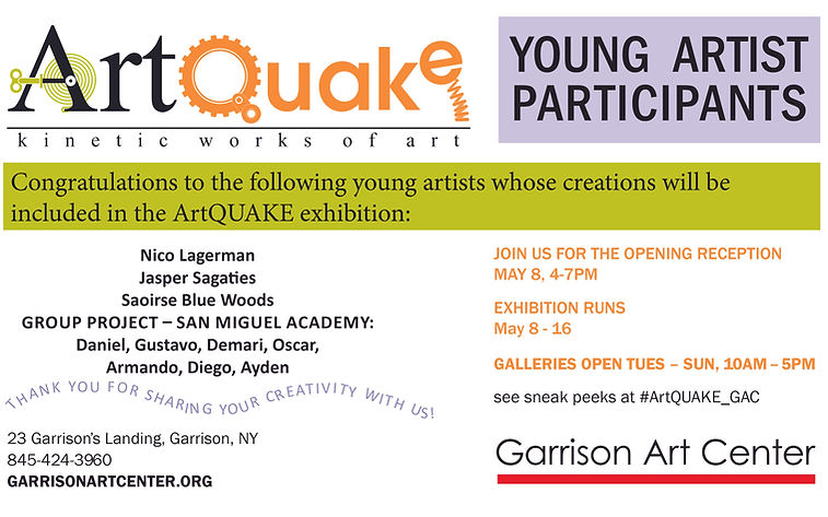 ArtQuake for eblast_Youth Selected Parti
