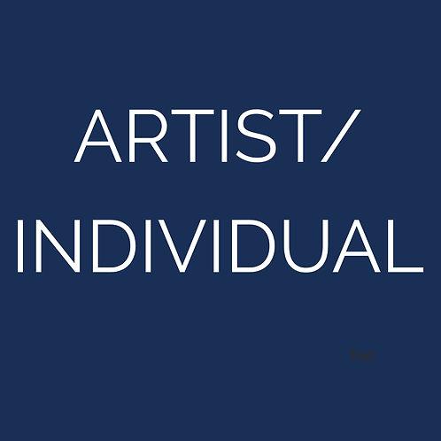 Membership - Artist/Individual