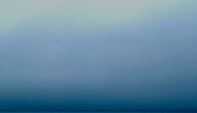 Hudson River, Light through Fog  - Elizabeth Arnold.