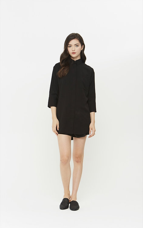 The Comune Black Jasper Blouse
