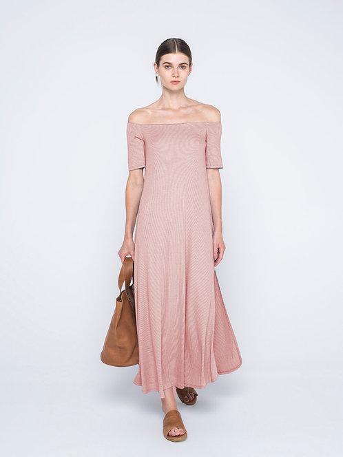 Ioanna Kourbela Rosé Dress