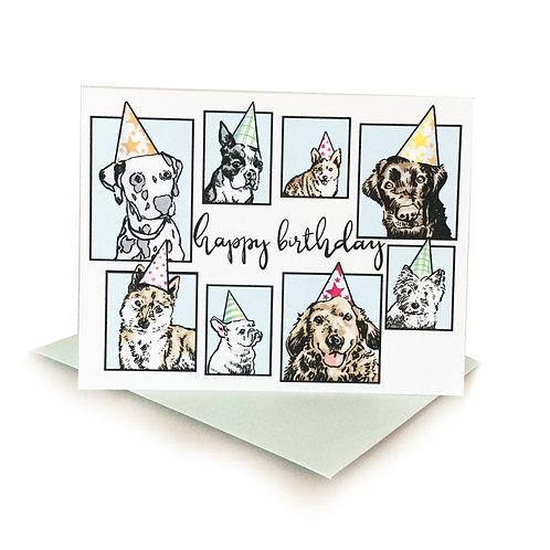 Hand Drawn Daniel Durkin Birthday Card