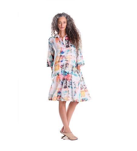 Brushstroke Dress