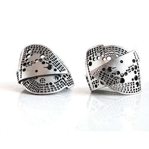 Oropopo Silver Luna Bonita Bracelet