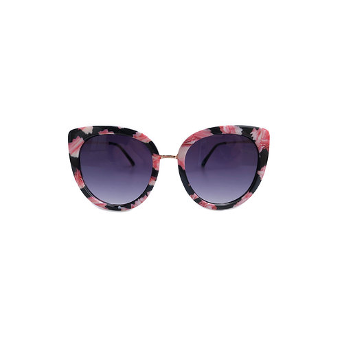 Launch Floral Cat Eye Sunnies Detail