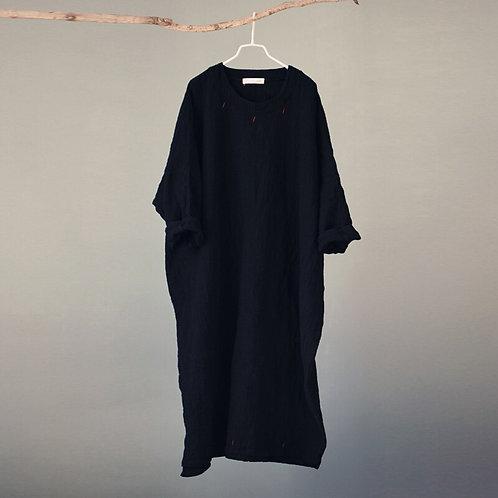 Black Camelia Dress