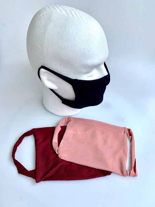 Cotton Masks: Three Pack