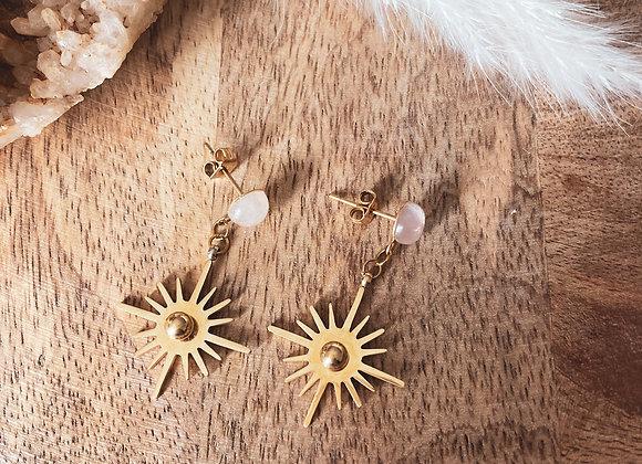 Boucle d'oreille Vishnou