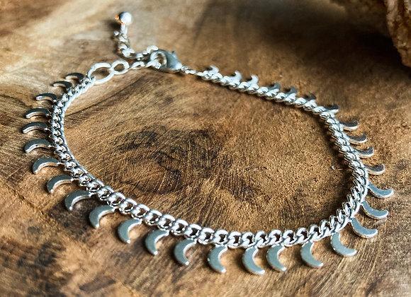 Bracelet Lunaire argent