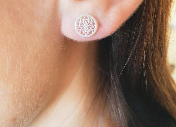 Boucle d'oreille Epicéa