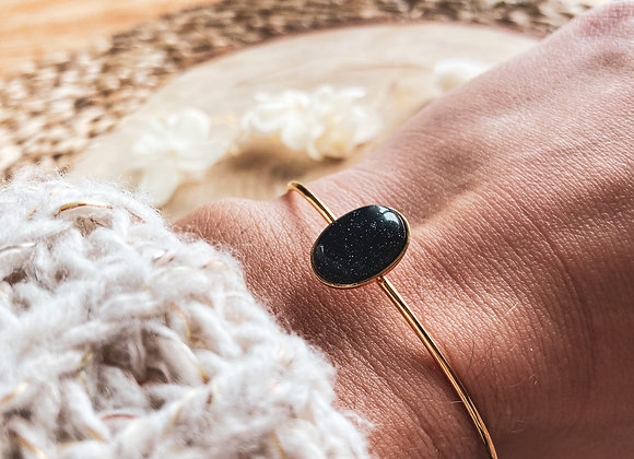 Bracelet Madara blue sand stone
