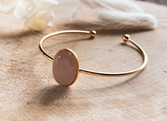 Bracelet Madara quartz rose