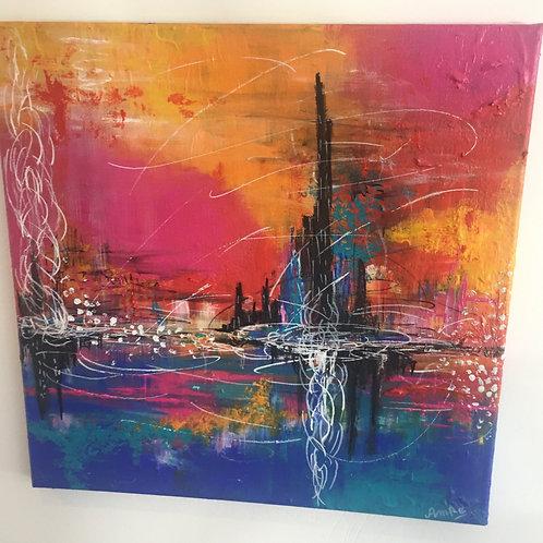 Beyond Visual Spectrum by Amna Rehan