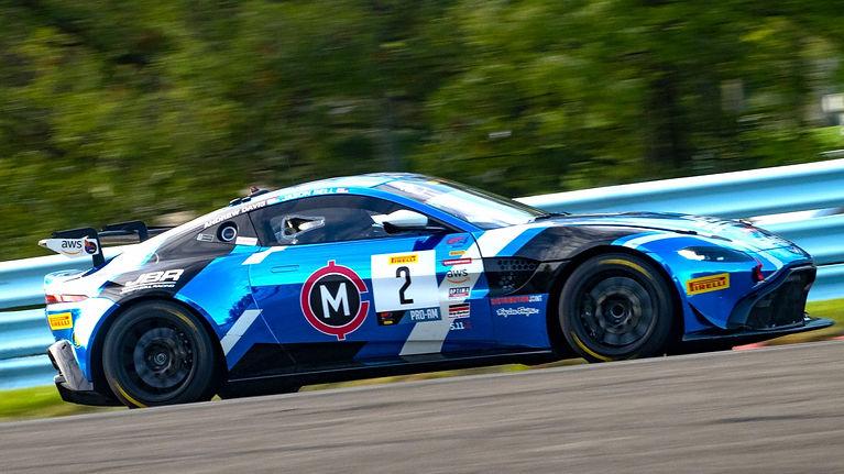 Stevan McAleer Fastest In Practice GT4 America