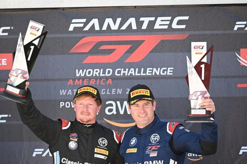 Stevan McAleer Wins Watkins Glen GT4 America Race 2021