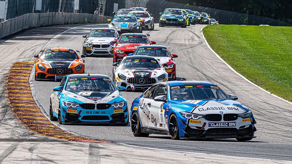 Stevan McAleer BMW GT4 America