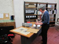 Archivist Karine MacGrath