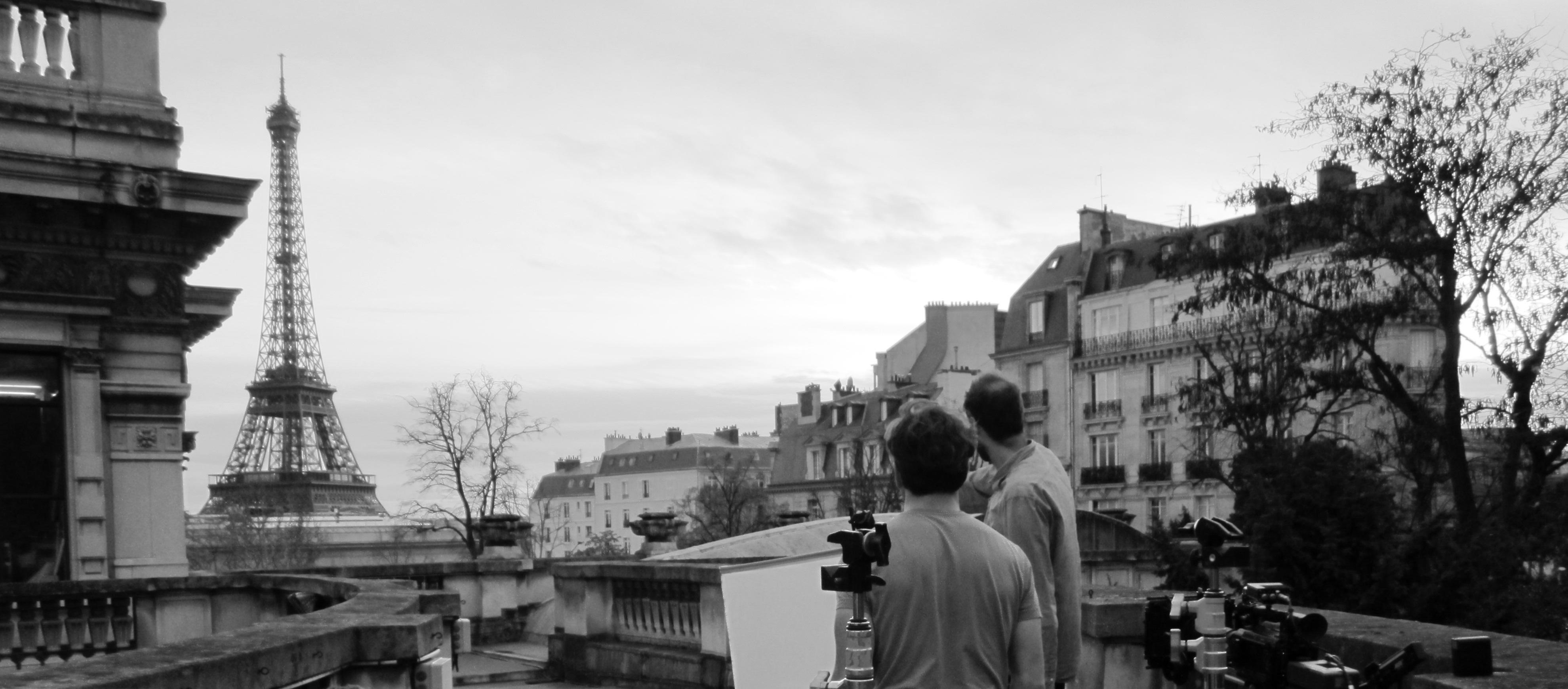 Shooting B-roll in Paris