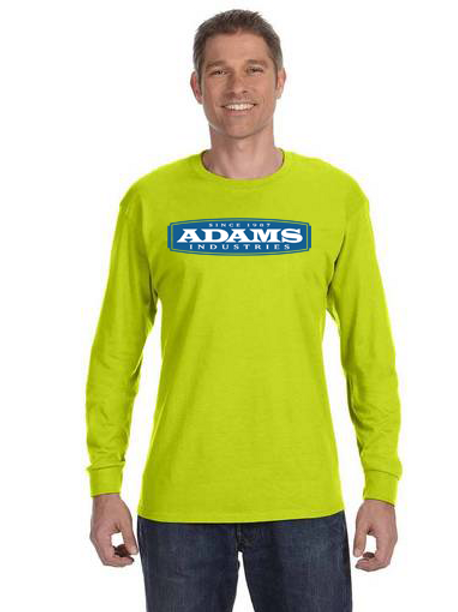 copy of Adams Cotton Long Sleeve Safety T-Shirt