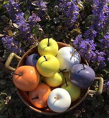 Small ceramic apple
