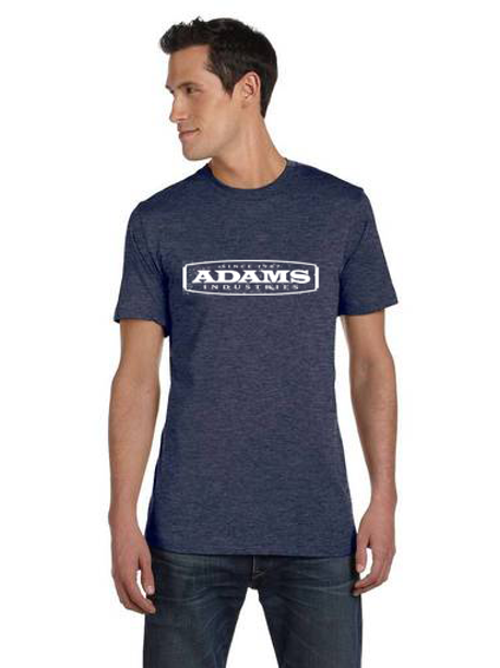 Adams Unisex Heather Soft Style T‑Shirt