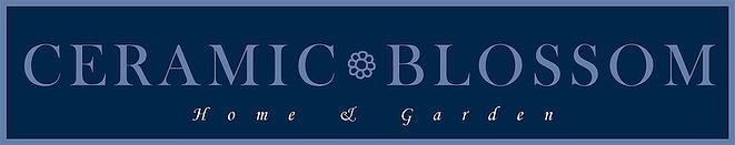 handmade ceramic flowers, apples, triket dishes. Ceramic Blossom logo