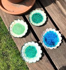 Ceramic and glass dish