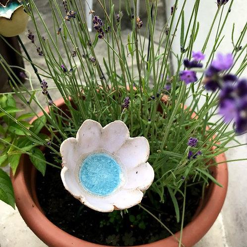Glass Flower - Sky Blue