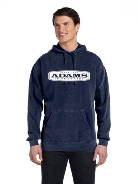 Adams Unisex Soft Washed Hooded Sweatshirt