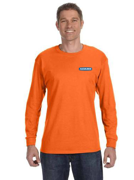 Adams Cotton Long Sleeve Safety T-Shirt