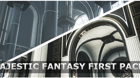 Majestic Fantasy Halls & Interiors Now Available!