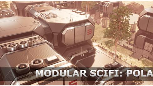 Modular SciFi: Polaris Colony Released!