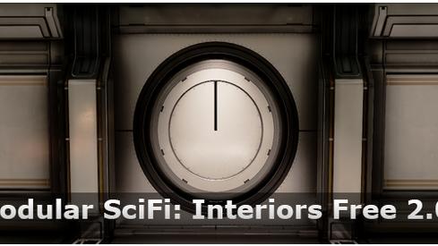 Modular SciFi: Interiors Free 2.0 Expansion!